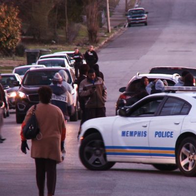 Funeral in North Memphis